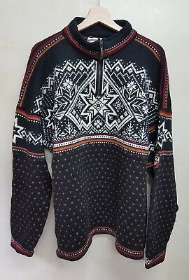 Dale Of Norway Maglione Norvegese Uomo Vintage Anni 90 Sweater Rare Vintage