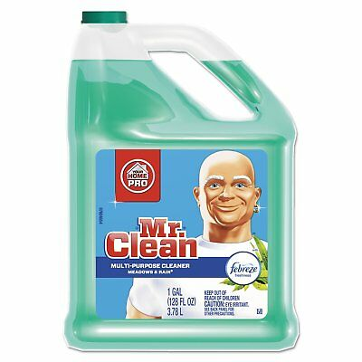 Mr. Clean Multipurpose Cleaning Solution with Febreze 128-ounce Bottle Meadows &