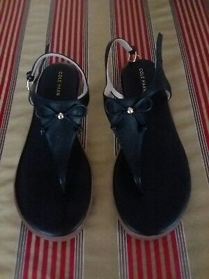 big selection numerous in variety online for sale COLE HAAN FINDRA Leather Thong Sandals, Women's Size 8.5 ...