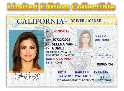 Selena Gomez Superstar Limited Edition 2019 Collectible License