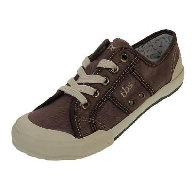 Lady Choco Marron Chaussures Toile Canvas Basses Tbs Opiace 87455 deWCBxro