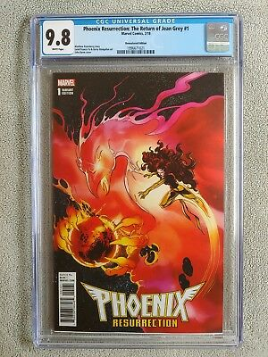 Phoenix Resurrection Return of Jean Grey #1 CGC 9.8 1:1000 Very Rare 🔥🔥🔥