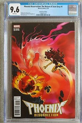 Phoenix Resurrection Return of Jean Grey #1 CGC 9.6 1:1000 Very Rare 🔥🔥🔥