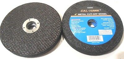 """Lot Of (50) 4"""" Inch Dia. X 1/16"""" Thick  X 5/8"""" Arbor 4"""" Cut Off Wheel Disc"""