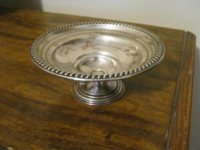 Vintage Sterling Silver - La Pierre - Pedestal Dish - Weighted Reinforced