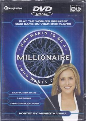 Dvd Game: Who Wants To Be A Millionaire Hosted By Meredith Vieira