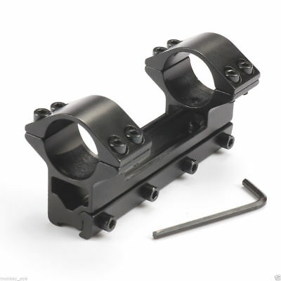 High Profile 25.4mm 1inch Riflescope Mount Dual Rings 11mm Dovetail Rail Mount