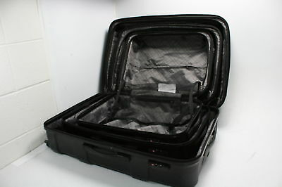 "Samsonite Centric Expandable Hardside Luggage Set Spinner Wheels 20/24/28"" Black"