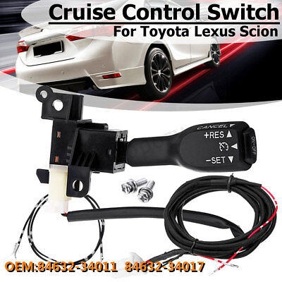 #84632-34011 Cruise Control Stalk Switch + Harness Kits For Toyota Camry Lexus