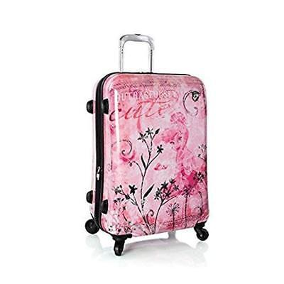 New Heys Disney Fairies Fantasy 26 inch Expandable Spinner Luggage