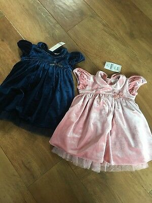 New Next Baby Girls Party Dresses  Bundle  x  2     3 - 6 Months    £36