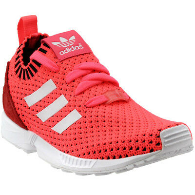 adidas ZX Flux Primeknit Youth Running Shoes - Pink - Girls