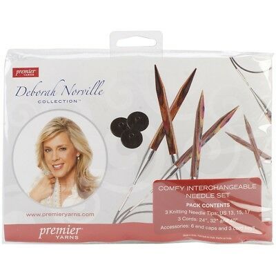 Premier Interchangeable Knitting Set-sizes 13, 15 & 17