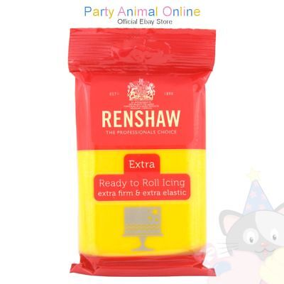 Renshaw - Professional Ready to Roll Extra Firm & Extra Elastic Icing - 250Kg