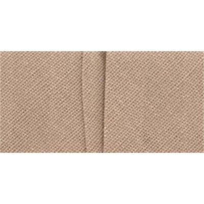"Wrights Single Fold Bias Tape .875""x3yd-taupe"
