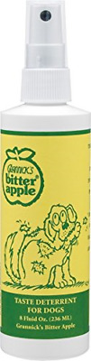 Grannicks Bitter Apple Spray Stops Pets From Biting Fur Wounds Bandages 8 oz
