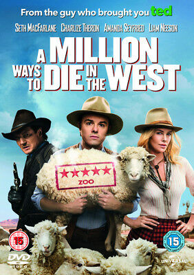 A Million Ways to Die in the West DVD NEW