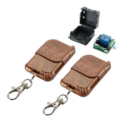 Wireless Remote Control 1CH Channel 433MHz 12V Relay Switch+ 2 Transmitter AH509