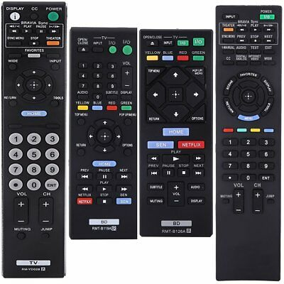 New Replacement Remote Control For Sony LCD LED HDTV Smart TV RM-YD028 RMT-B119A