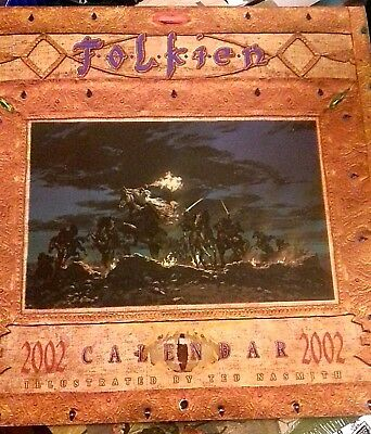 Tolkien 2002 Calendar Illustrated By Ted Nasmith