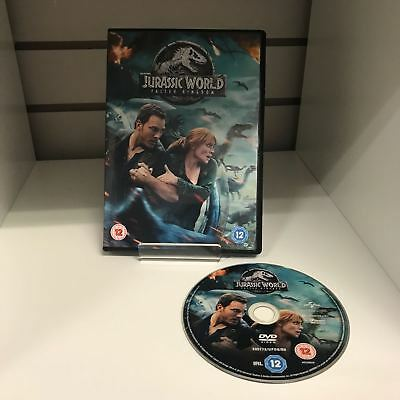 Jurassic World Fallen Kingdom DVD - GENUINE - Fast and Free Delivery