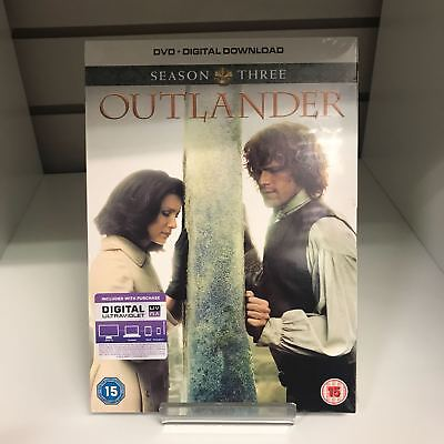 Outlander Season 3 DVD - GENUINE BOXSET New and Sealed Fast and Free Delivery