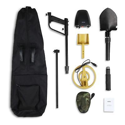 Intey Metal Detector To-Gj-023 With Case Folding Shovel And Strainer