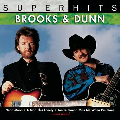 Brooks & Dunn: Super Hits CD NEW SEALED PACKAGE
