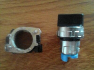 Breter RM304N Black 2 Position Selector Switch