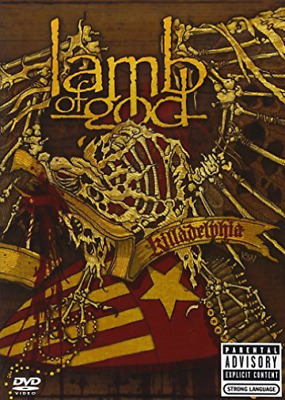 Lamb Of God - Killadelphia DVD NEW