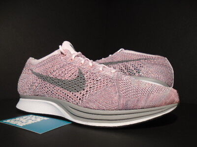 release date: 2eb07 47dce Nike Flyknit Racer Trainer Strawberry Pearl Pink Cool Grey White 526628-604  10