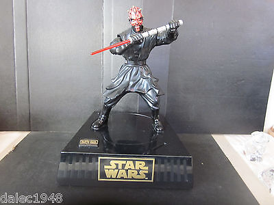1999 Star Wars Episode I Darth Maul Fantom Menace Action & Talking Bank