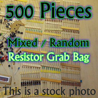 Interstellar Electronic Components Assortment Kit Grab Bag LED Resistors pcs