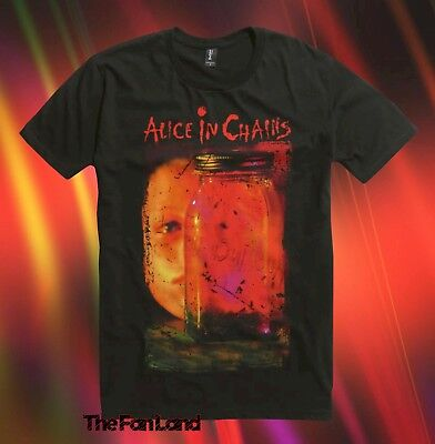 New Alice In Chains Jar Of Flies 1994 Mens Vintage T-Shirt