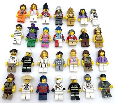 LEGO NEW MINIFIGS TOWN CITY SERIES CHRISTMAS PIRATE CASTLE MORE YOU PICK!!