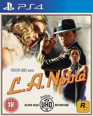 L.A. Noire (PS4) BRAND NEW AND SEALED - IN STOCK - QUICK DISPATCH - FREE UK POST