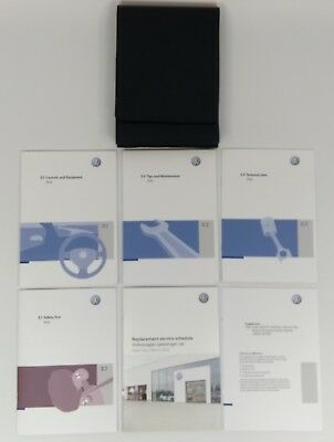 New Genuine Vw Polo 9N3 Owners Manual Handbook Service Book Wallet 02/2007