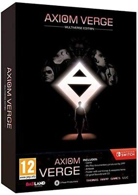 Axiom Verge Multiverse Edition (Switch)  BRAND NEW AND SEALED - IN STOCK