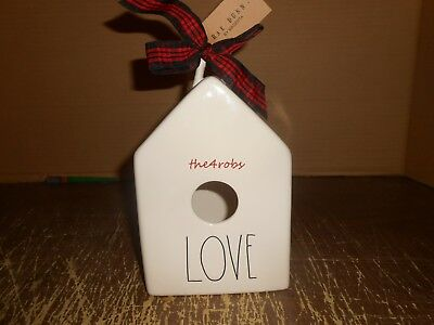 New Rae Dunn By Magenta Love Bird House