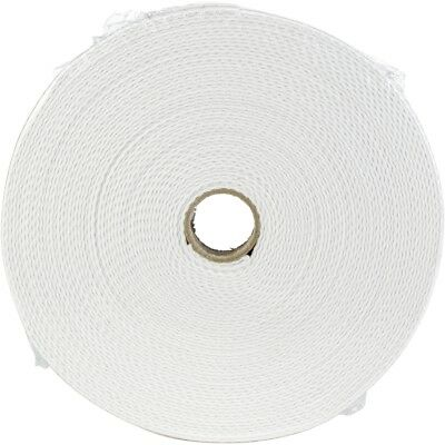 "Products From Abroad 100% Cotton Webbing 1""x22yd-white"