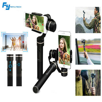 Feiyu 3-Axis SPG Handheld Gimbal Camera Video Stabilizer iPhone Android Phone
