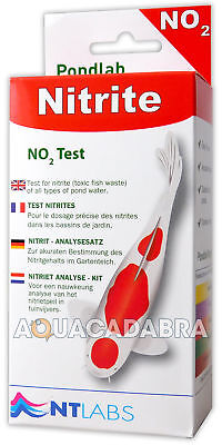 NT Labs Pond Nitrite Test NO2 Waste Health Check Water Testing Kit Koi Fish Set