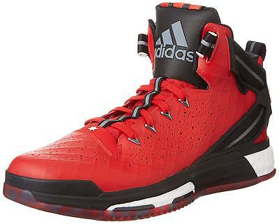 9cc361594ff7 New Adidas D Rose 6 Boost Signature Red Mens Basketball Trainer Shoes - 65%  OFF