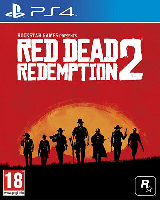 Red Dead Redemption 2 (PS4)  BRAND NEW AND SEALED - IN STOCK - QUICK DISPATCH
