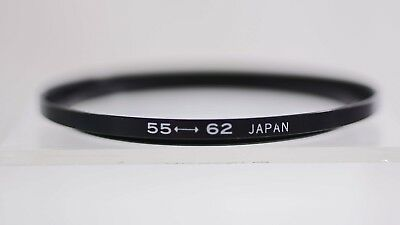 55Mm To 62Mm Step-Up Metal Lens Filter Ring