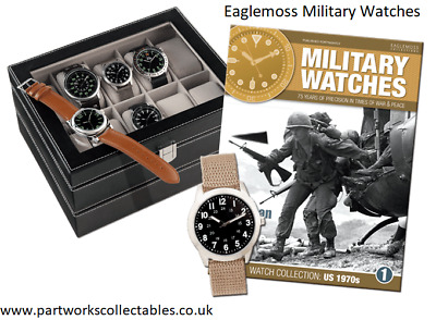 Eaglemoss Military Watches