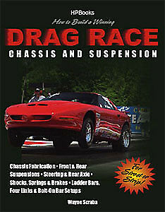 HP Books 1-557-884625 Book: How to Design and Build a Winning Drag Race Chassis