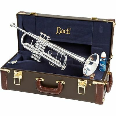 Bach 180S37 Stradivarius Series Bb Trumpet Silver, New in Box! USA Dealer