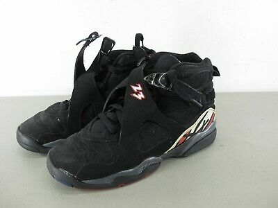 40604495a12 Nike Air Jordan 8 VIII Retro Playoff GS Sneakers Shoes 305368-061 Size 7Y