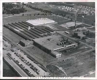 1952 Press Photo Alabama-Aerial view of the B.F. Goodrich plant in Tuscaloosa.